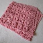 çiçek-motifli-çocuk-battaniyesi-modeli