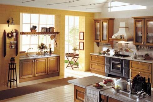 Buyuk modern mutfak tasarimlari for What are the different kitchen designs