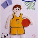 Keçe Basketbolcu Erkek