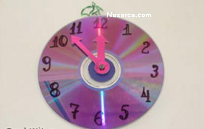 Как сделать часы картон 200
