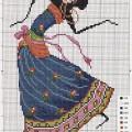 Etamin kadın işleme örneği