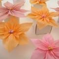 Gramafon Kağıdından Çiçek Yapımı