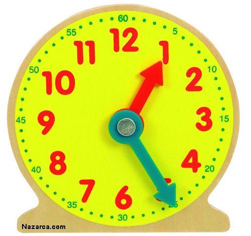 Часы из картона с крутящимся циферблатом своими руками 41
