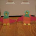 Kartondan Minik KuşYapılışı