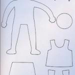 Keçe Basketbolcu Erkek Kalıbı