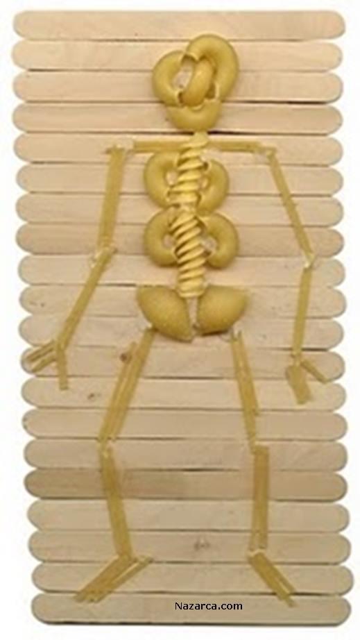 makarnalardan-yapilan-iskelet