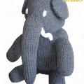 Örme Oyuncak fil