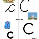 resimli-c-harfi-ogrenme-sayfalari