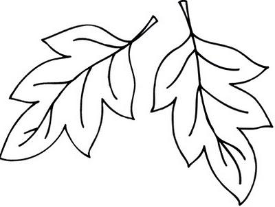 Yaprak Kalıbı Boyama Sayfası Gauranialmightywindinfo