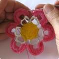 İçecek Kutu Halka Açacaklarından Çiçek Motif Örneği