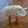 Kulak Temizleme Çubuğundan Koyun Yapımı