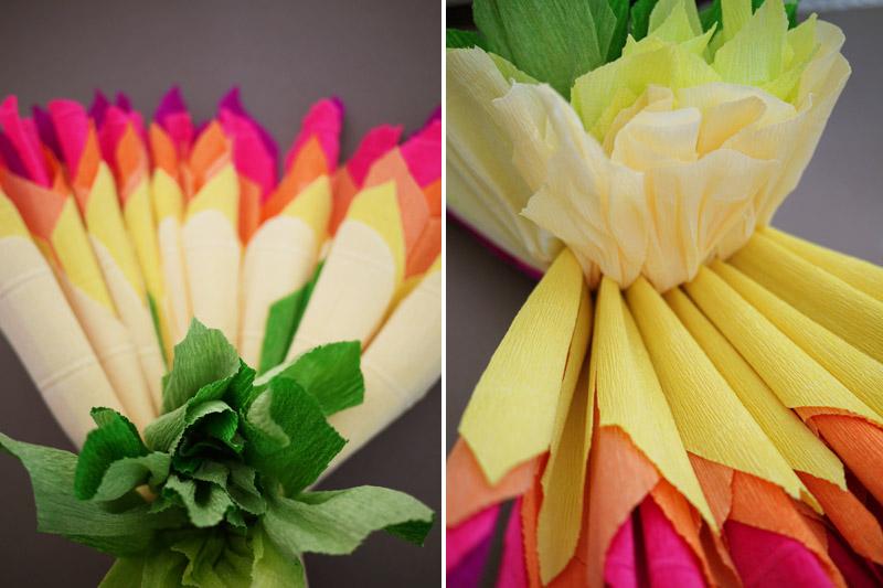 Цветы своими руками мастер класс их гофрированной бумаги своими руками