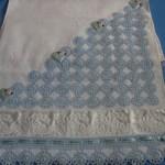 havlu kenarı- ornek-mavi