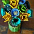 Yumurta Mukavvasından Çiçek Yapımı