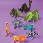 karton-hayvan-oyuncaklar