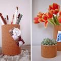 konserve-tenekesinden-kalemlik-vazo