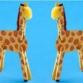 Mandallardan Yapılan Zürafalar