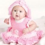 pemge-örgü-bebek-elbisesi