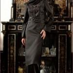 tesettür-abiye-siyah-saten-ipek-elbise-turban