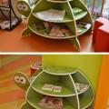 kaplumbaga şeklindeki sehpa