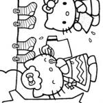 Hello-Kity-annesiyle-boyama-resimleri-sayfalari