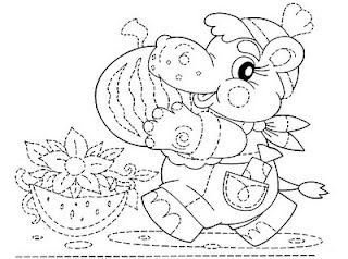 Hayvanli çiz Boya Sayfalari Nazarcacom