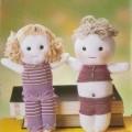 eldivenden oyuncak kız bebek yapılışı
