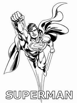 Süpermeni Boyama Resimlerisayfalari Nazarcacom