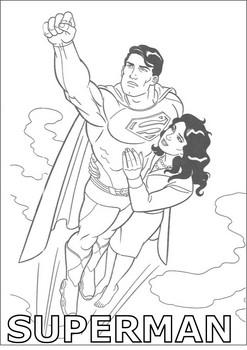 Supermeni Boyama Resimleri Sayfalari Nazarca Com