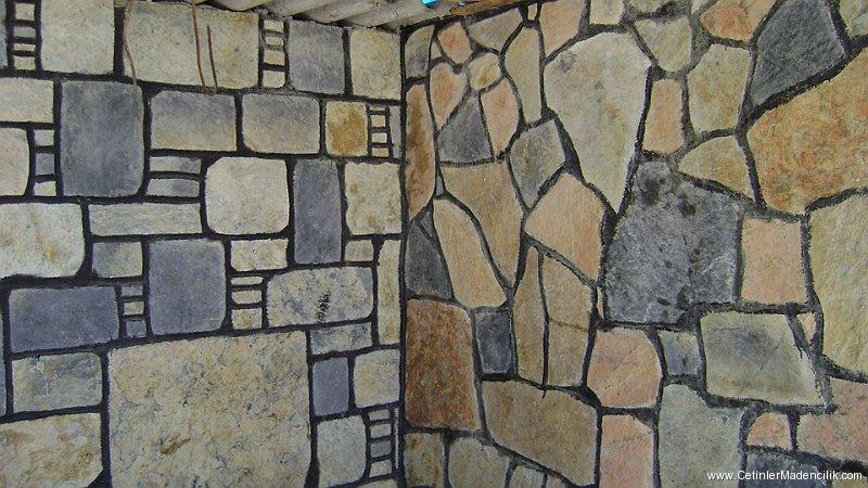 Doğal taş görünümlü dış cephe kaplamaları
