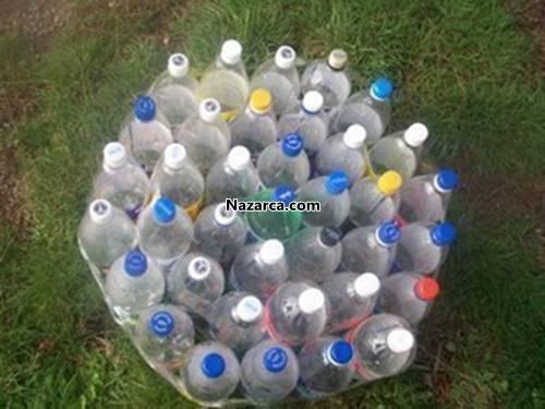 plastik-siseden-puf-yapimi