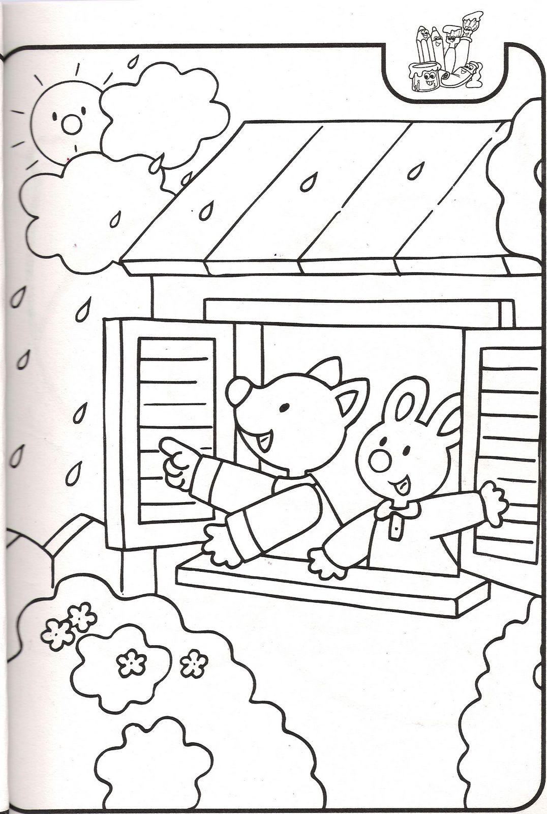 Sevımlı boyama sayfalari sevimli hayvan boyama resimleri sayfalari 9