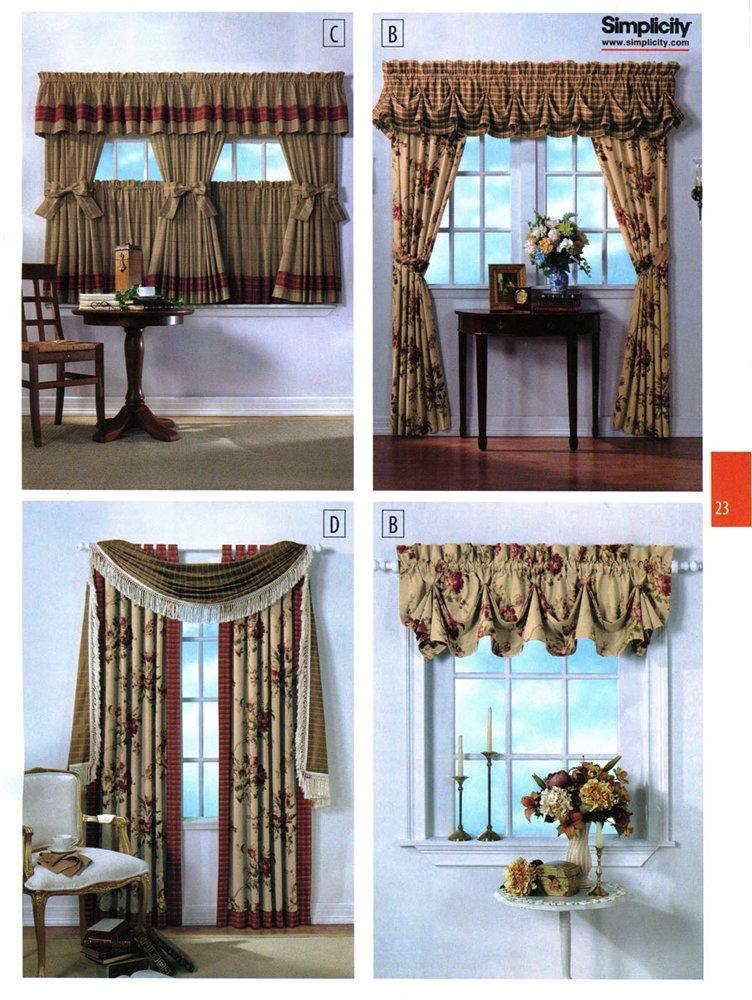 Как дома сшить шторы 84