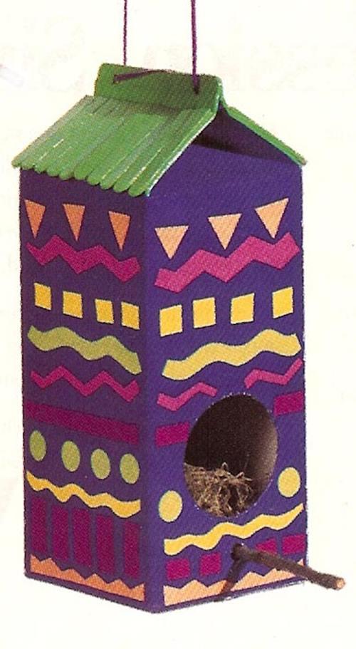 Birdfeeder-house