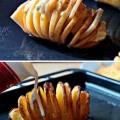 firinda-dilimli-kasarli-patates-pisirme