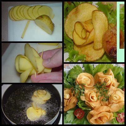 gul-seklinde-patates-kizartmasi