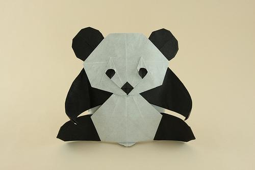 karton-origami-panda