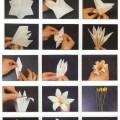 origami-zambak-yapimi