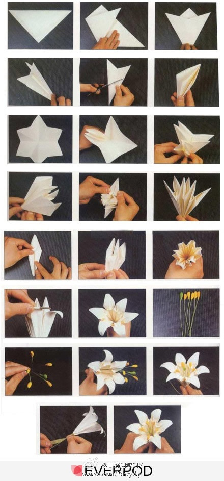 Цветы оригами своими руками фото пошаговое фото