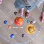 solar-sistem-Güneş Sistemi Modeli