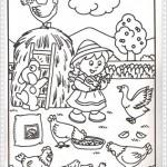 Çeşitli resim boyama sayfalarıkumeste-tavuklari-boya