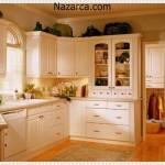 Krem Renk Mutfak Mobilyaları