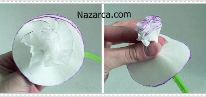 Как сделать из салфеток гвоздики пошагово