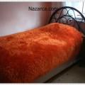 Sakallı İpten Yapılan Halı ve Yatak Örtülerisakalli-iple-tek-kisilik-yatak-ortusu-orme