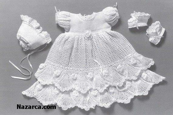 beyaz-dantel-ipinden-bebek-takimi-elbise