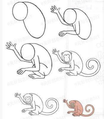 kolay-maymun-cizme