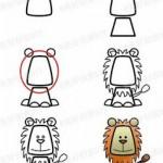 kolay-sevimli-aslan-cizme