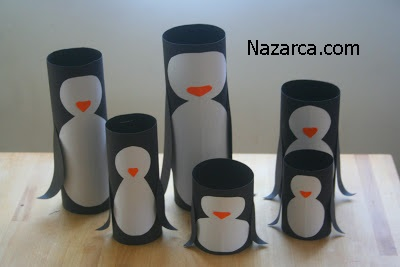 rulo-kartondan-penguen-ailesi-7