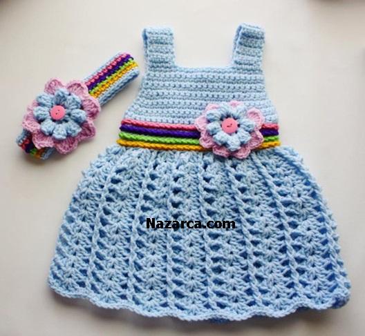 Crocheting Baby Stuff : TI? ??? ?RG? MAV? KIZ ELB?SES? VE c?cEK MOT?FL? TAKIM ...