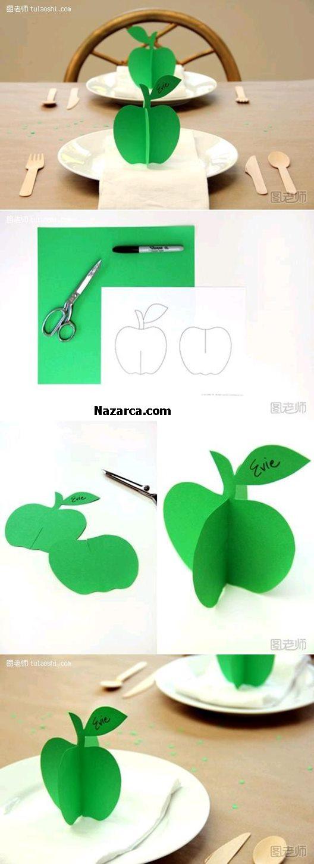 3-boyutlu-kartondan-elma